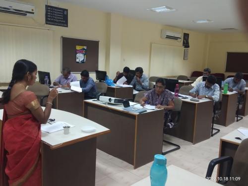 spoken hindi corporate class - ITC1