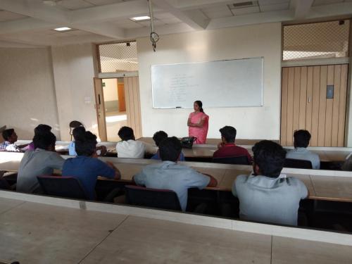spoken hindi corporate class - KPR College 2