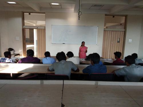 spoken hindi corporate class - KPR college 1