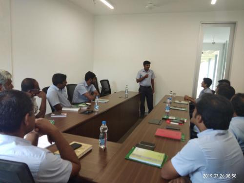 spoken hindi corporate class - Propel Industries 6
